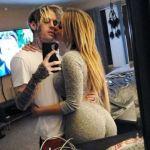 Aaron Carter's girlfriend, Melanie Martin