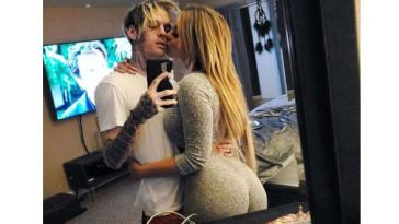 Aaron Carter's girlfriend, Melanie Martin