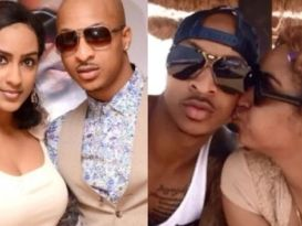 Juliet Ibrahim and IK Ogbonna