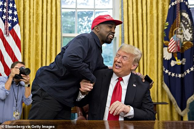 Kanye West says he will vote for Donald Trump in 2020 election