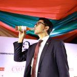 Madagascar president Andry Rajoelina unveils a local herbal for coronavirus