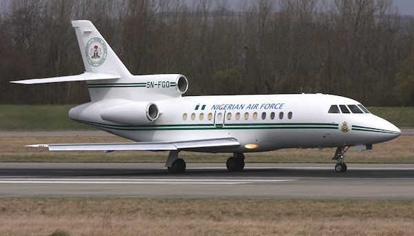 FG Places $23m Presidential Jet Up For Sale
