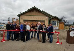 Coffey Park Ribbon Cutting Live – First Home Rebuilt