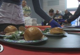 Thanksgiving Feast Draws Thousands