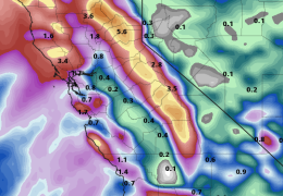 Flash Flood and Wind Watch. Atmospheric River arrives Tuesday.
