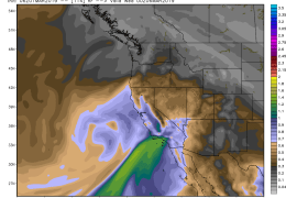 Good News. Next Atmospheric River Headed South.