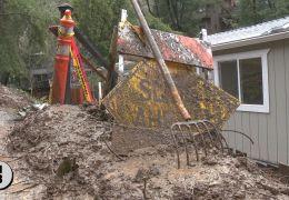 Forestville Landslide Threatens Homes