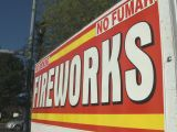 Fireworks Stands Hang On