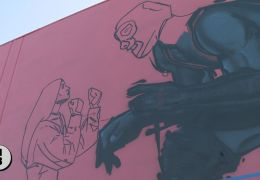 Massive Mural Rises in Roseland Neighborhood