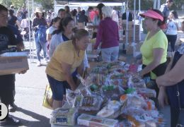 LIVE: Food Boxes Help Families in Healdsburg