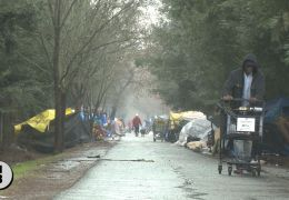 Pest Control Begins as Search for New Encampment Site Narrows