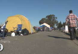 New Santa Rosa Homeless Camp Attempts Self Sufficiency
