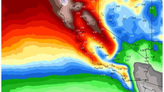 January Promising A Wet Sonoma County?