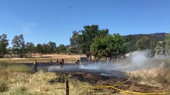 CAL FIRE, LOCAL AGENCIES: VIGILANCE NEEDED AS HEAT, FIRE RISK ON RISE OVER HOLIDAY WEEKEND