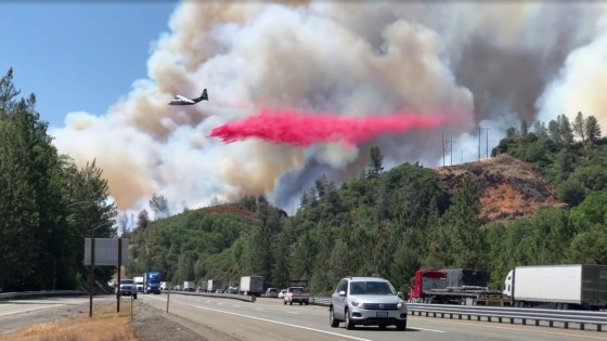 Fire Battles Continue in Shasta, Siskiyou Counties. North Bay Weather Tranquil for Holiday Weekend.