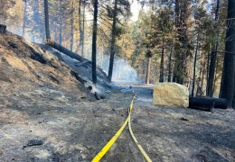 """CALDOR FIRE UPDATE.  SOUTH LAKE TAHOE, MEYERS """"LOOKING GOOD"""". WINDS, WEATHER, HUMIDITY COOPERATE."""
