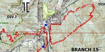 Sept 1 Caldor ops map Meyers Wed