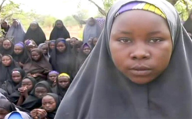 Nigerian girl kidnapped by Boko Haram