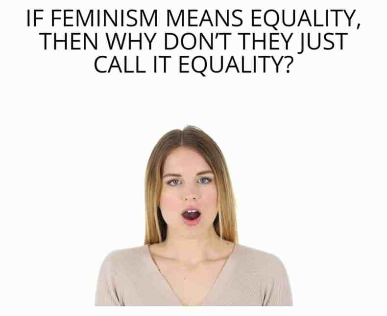 feminism why not called equality meme