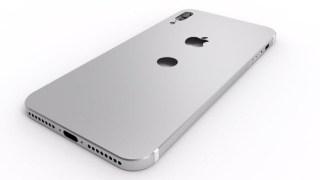 新しいiPhone 8がリークしたもよう 背面に指紋認証・ホームボタン