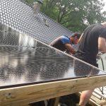 Zelf ontworpen montagesysteem zonnepanelen
