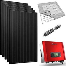 Zonne-energie installatie