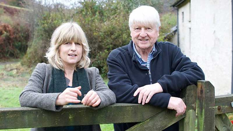 Rachel and Stanley Johnson to Appear on BBC One's River Walks
