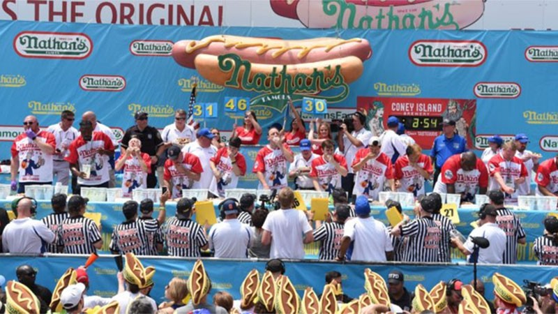 Nathan's Hot Dog-Eating Contest Returns July 4th