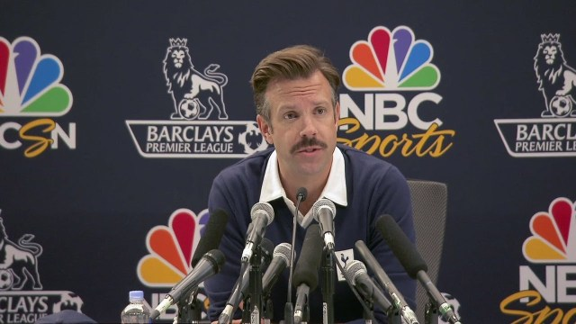 "An American Coach in London NBC Sports Premier League Film featuring Jason Sudeikis - Apple Confirms Comedy Football Series ""Ted Lasso"""