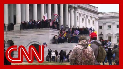 Pro Trump rioters storm US Capitol steps - US Television News
