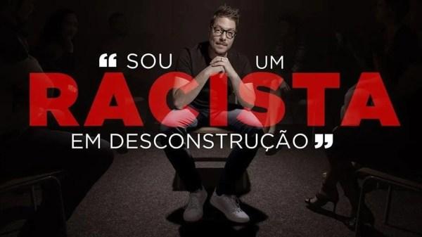 Fabio Porchat em campanha antiracista