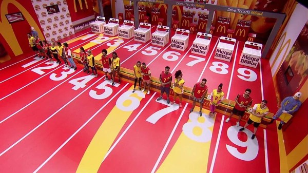 2ª prova do líder Big Brother Brasil