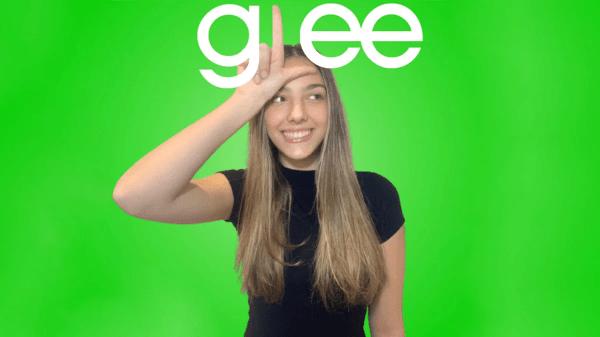 Giselle Alfano em Glee