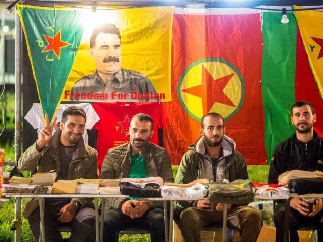 Με δικό τους περίπτερο οι Κούρδοι