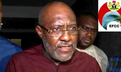 Breaking: PDP's Olisa Metuh Jailed For 7 Years, Ordered To Pay N375m To Buhari Govt