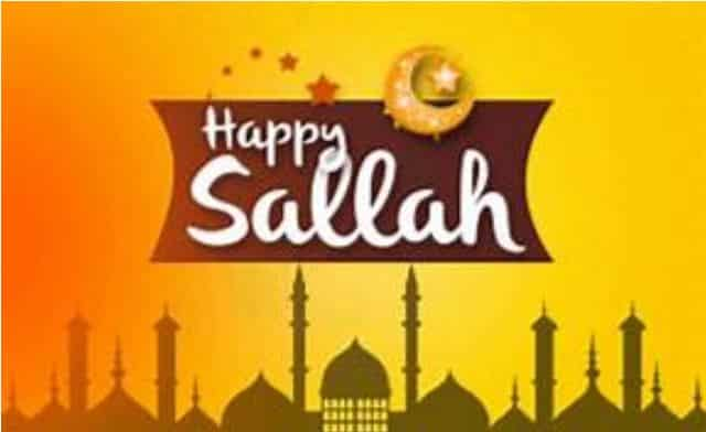 See 50 Happy Sallah Messages, Lovely Sallah Wishes And Prayers