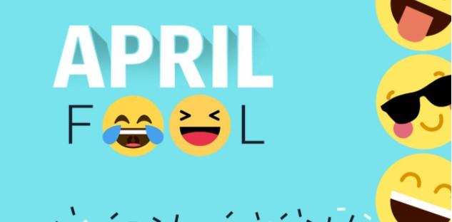 Happy April Fool's Day 2021