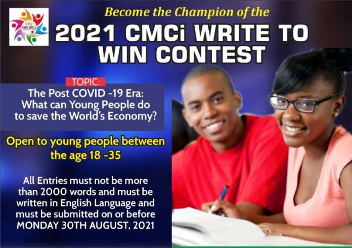 2021 CMCi Write To Win Contest