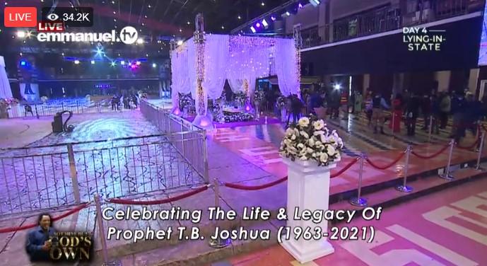 Live Stream Prophet TB Joshua Burial