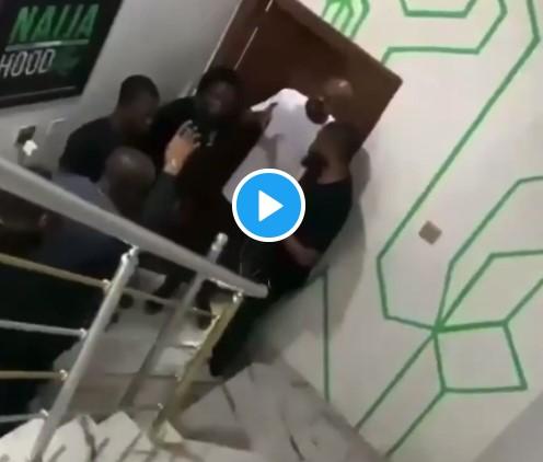 Jim Iyke Beats Up Fellow Nollywood Actor