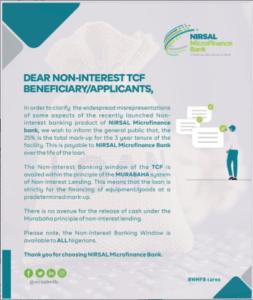 Latest News On Nirsal Microfinance Bank Loans