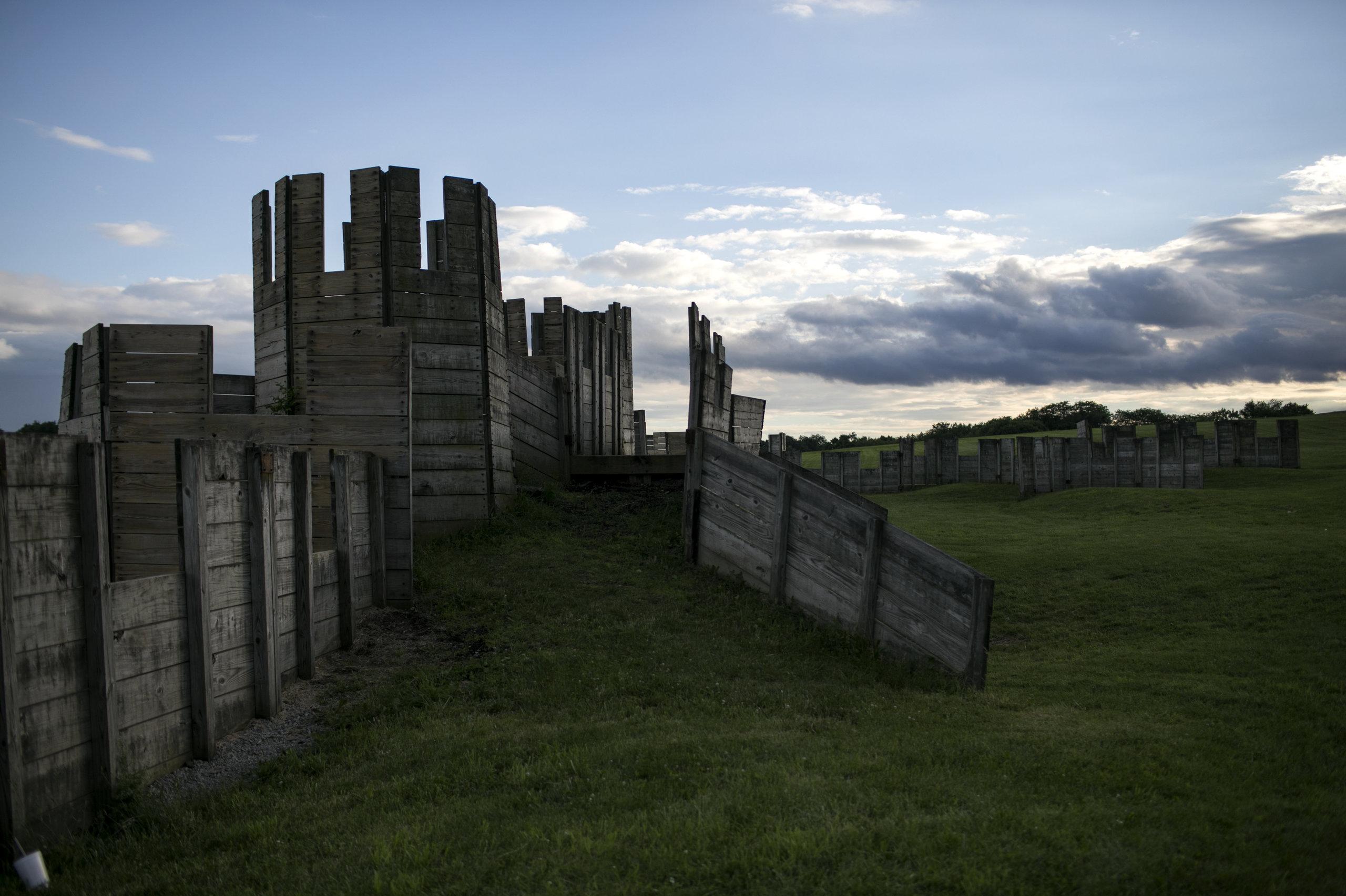 A castle erected for various battles at Ragnarok.