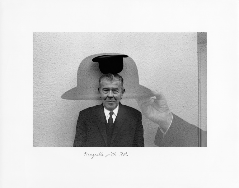 Duane Michals - Magritte with Hat