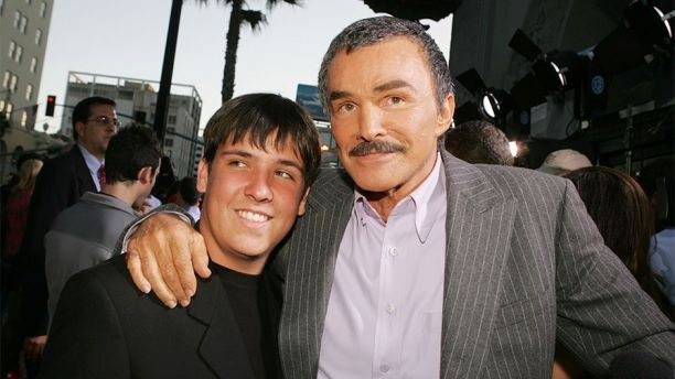 "LOS ANGELES - MAY 19:  Actor Burt Reynolds and his son Quinton arrive at the premiere of Paramount Pictures' ""The Longest Yard"" at the Chinese Theater on May 19, 2005 in Los Angeles, California.  (Photo by Kevin Winter/Getty Images)"
