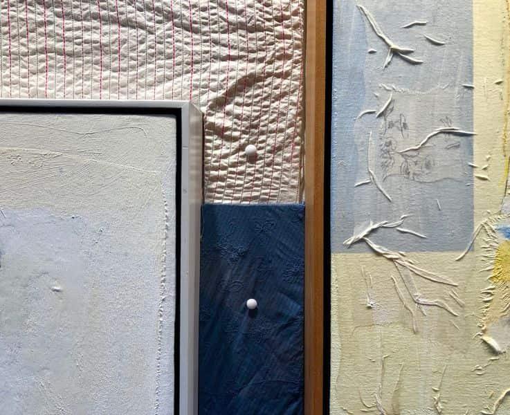 Rick Begneaud's Fabrics, Courtesy Woodward Gallery