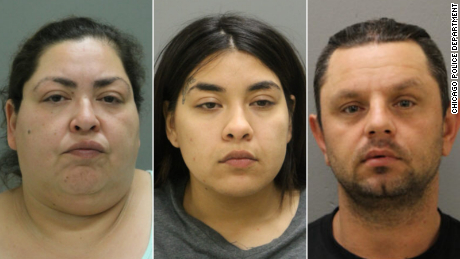 Clarisa Figueroa, 46, Desiree Figueroa, 24, and Piotr Bobak, 40.