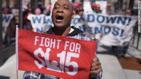 A $15 minimum wage started as a slogan. This week, it's set to pass the House