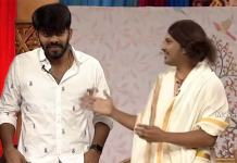 rocking rakesh calls sudigali sudheer as mallu uncle in skit