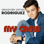 NSE NEW INTERNATIONAL POP SENSATIONS: 'Alexander James Rodriguez' is a British actor who has written his debut single with Kanye West, Jason Derula, Madonna and Kehlani songwriters resulting in the forever catchy friend powered pop track 'My Crew' with it's sleek R&B groove.