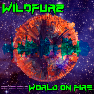 Atlanta based San Juan artist WILDFURZ brings back a niche synth power rock sound to the world as he warms us up with his energetic, driving rock single 'World on Fire'